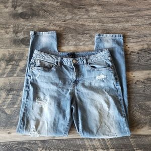 I Heart Ronson Distressed Jeans